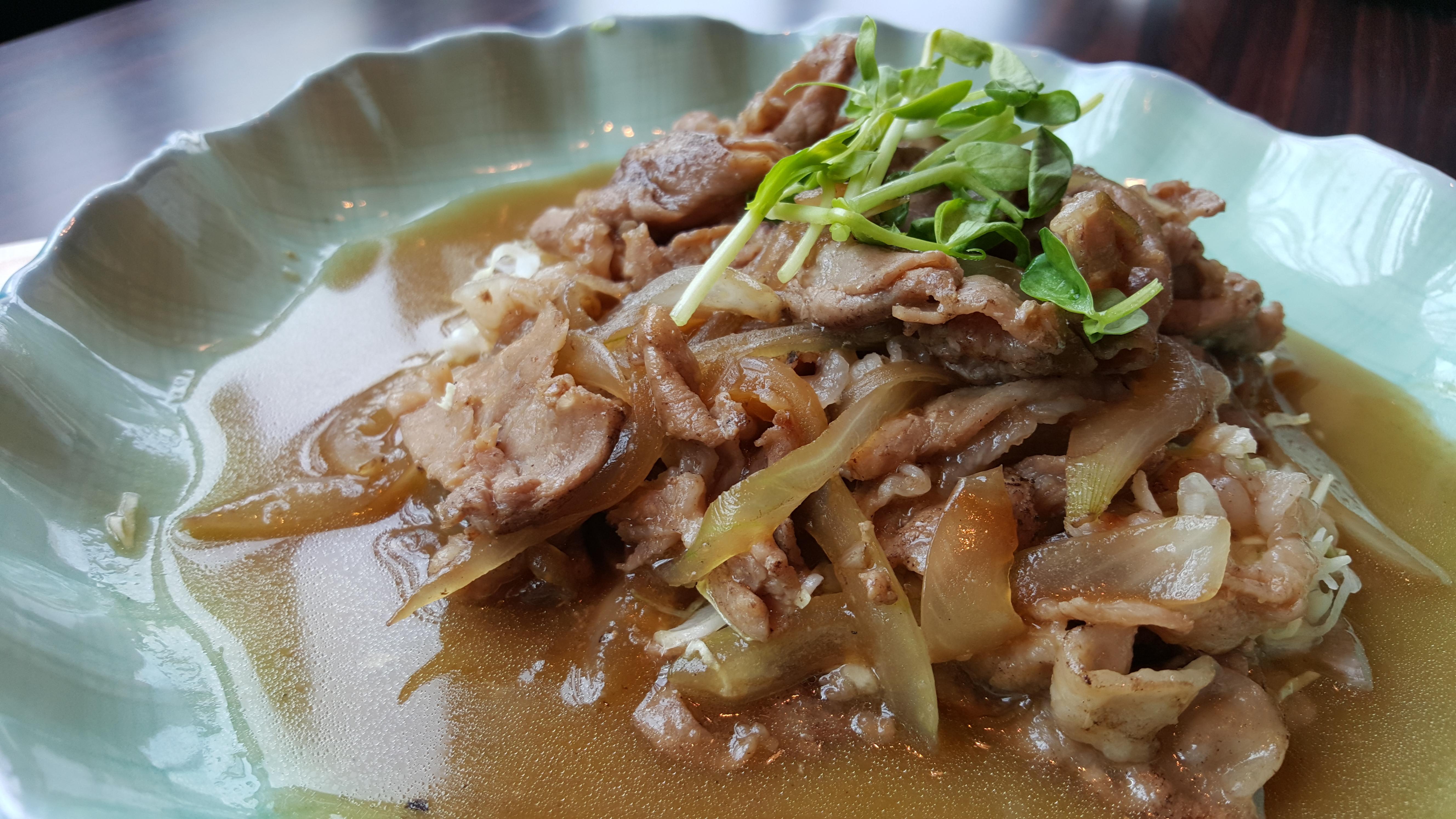 アグー生姜焼き