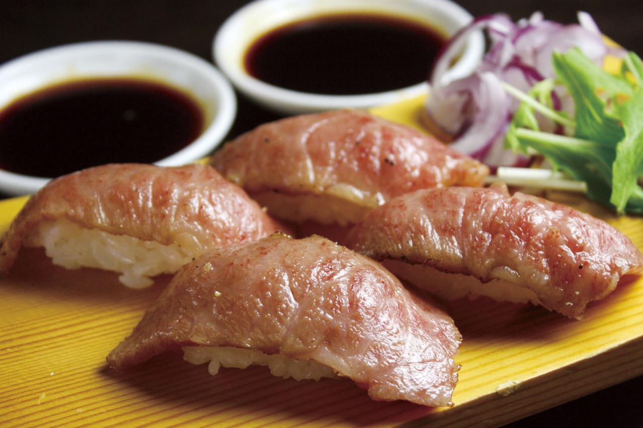 炙り寿司写真